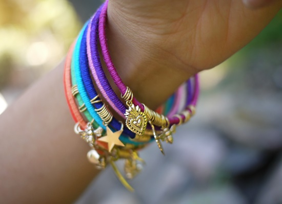 Colorful Wrap Bangles9