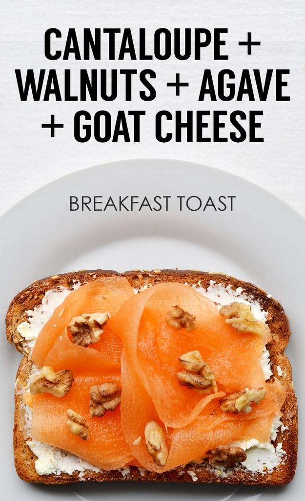 Creative Breakfast Toasts 19