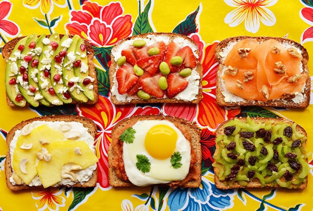 Creative Breakfast Toasts 24