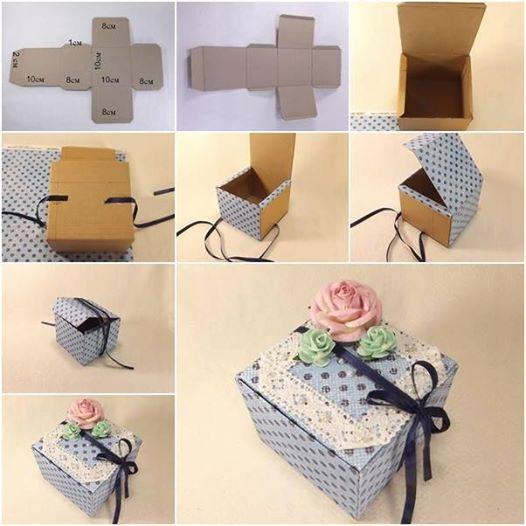 Nice Handmade Paper Gift Box