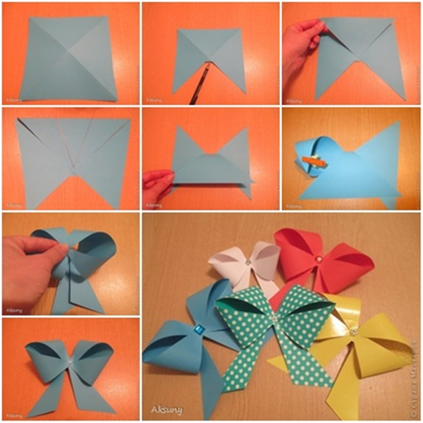 diy-gift-packing-paper-bow F