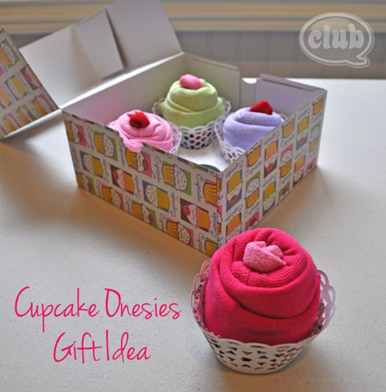 cupcake gift for baby 0