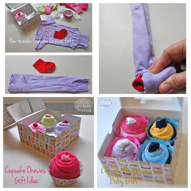 cupcake gift for baby F