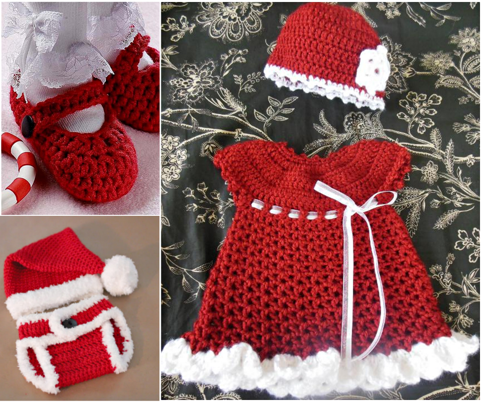 Christmas gift set -FREE-Crochet-