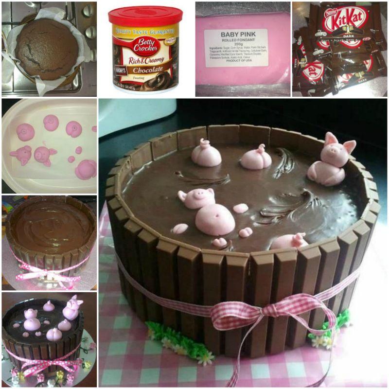 Wonderful Diy Cute Pug Cake