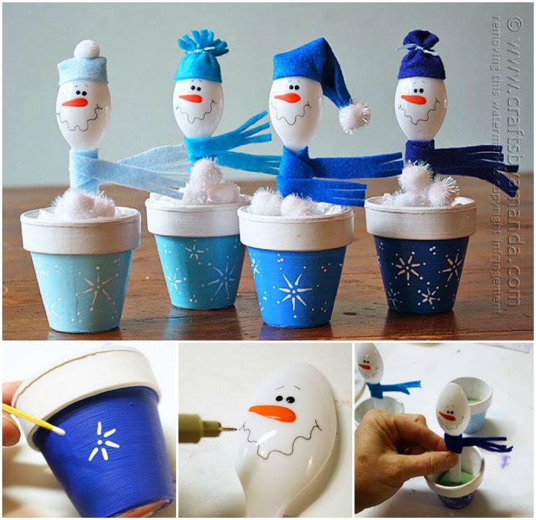 Wonderful DIY Easy Paper Lantern Snowman