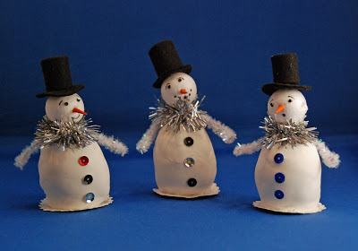 little snowman wonderfuldiy  Wonderful DIY Easy Cardstock Christmas Tree