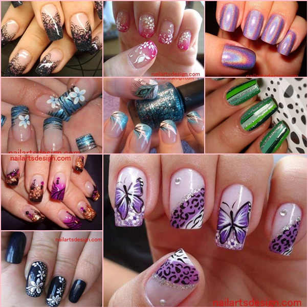 View In Gallery 10 Latest Nail Art Deaigns Wonderfuldiy The Very Best Diy Designs All Free