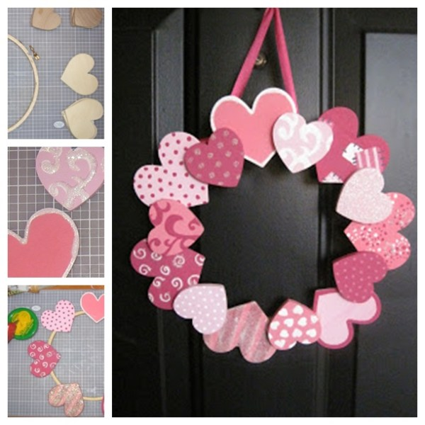 Wonderful DIY 20 + Valentine's Day Wreaths