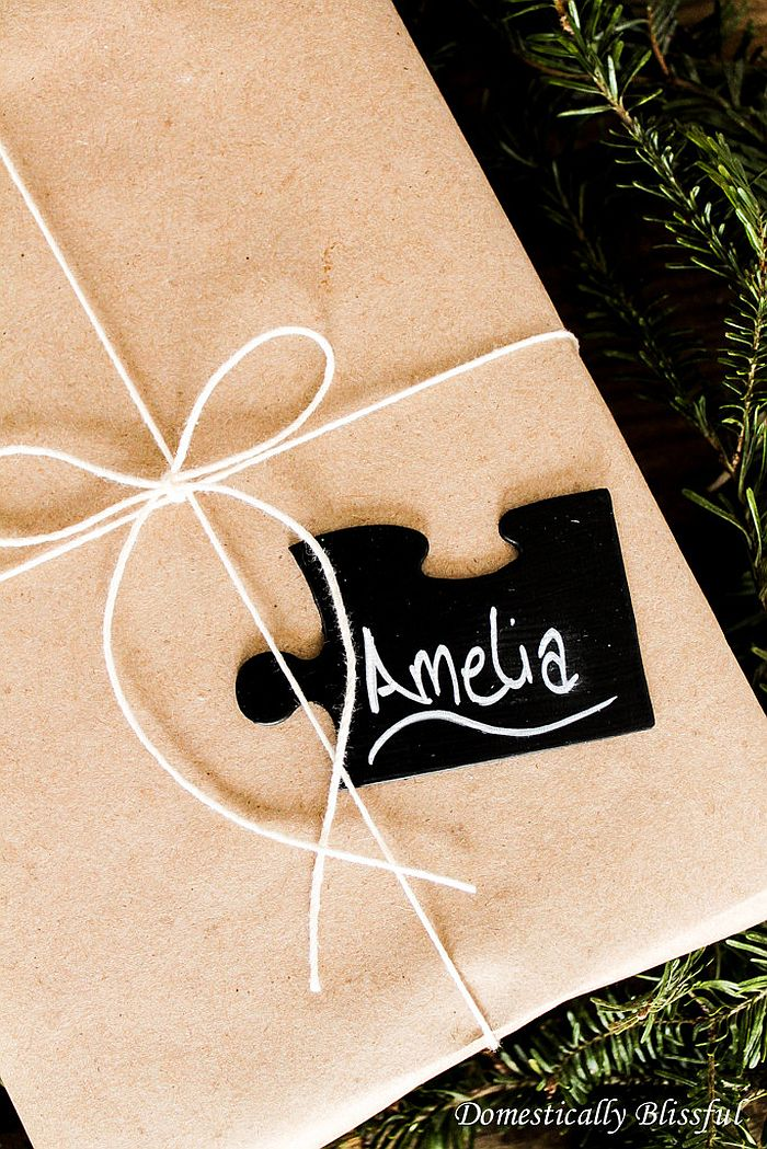 Puzzle Gift Tags