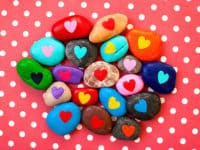 15 Beautiful Rock Painting Ideas