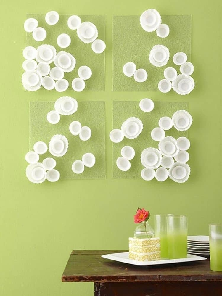A Display that Dazzles: Extra Unique DIY Wall Art Ideas on Creative Wall Art Ideas  id=96189