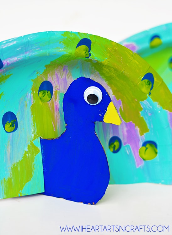 Colorful Treat 14 Peacock Themed Crafts For Kids