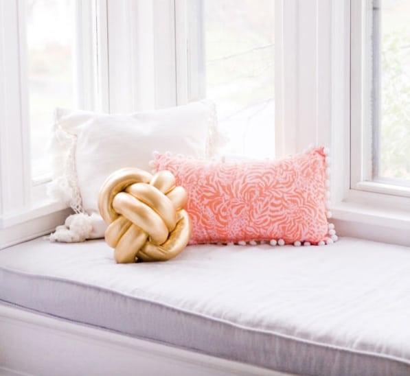 the hottest modern trend diy knot pillows