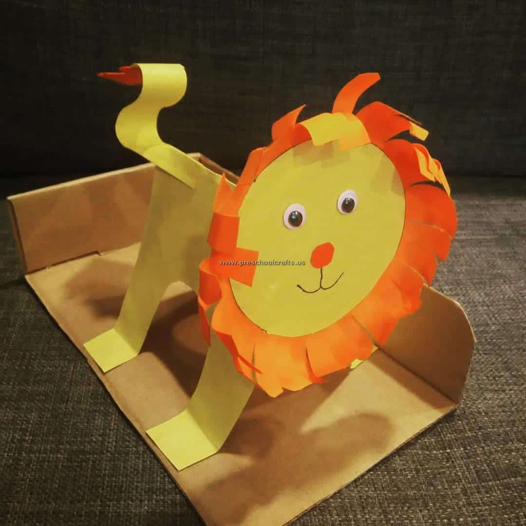 Roaring With Fun 15 Kids Crafts Involving Lions
