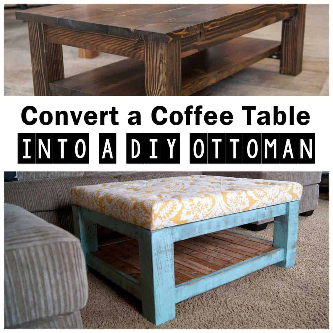 awesome diy ottoman coffee tables