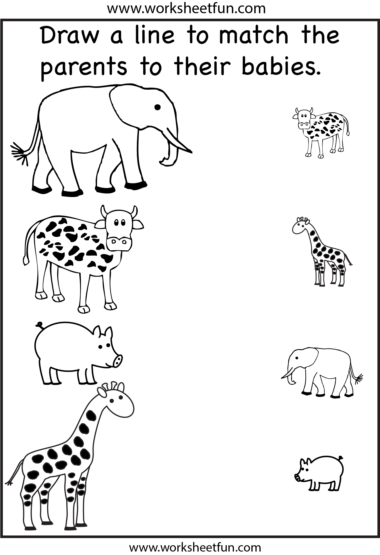 Biggest And Smallest Worksheet For Kindergarten