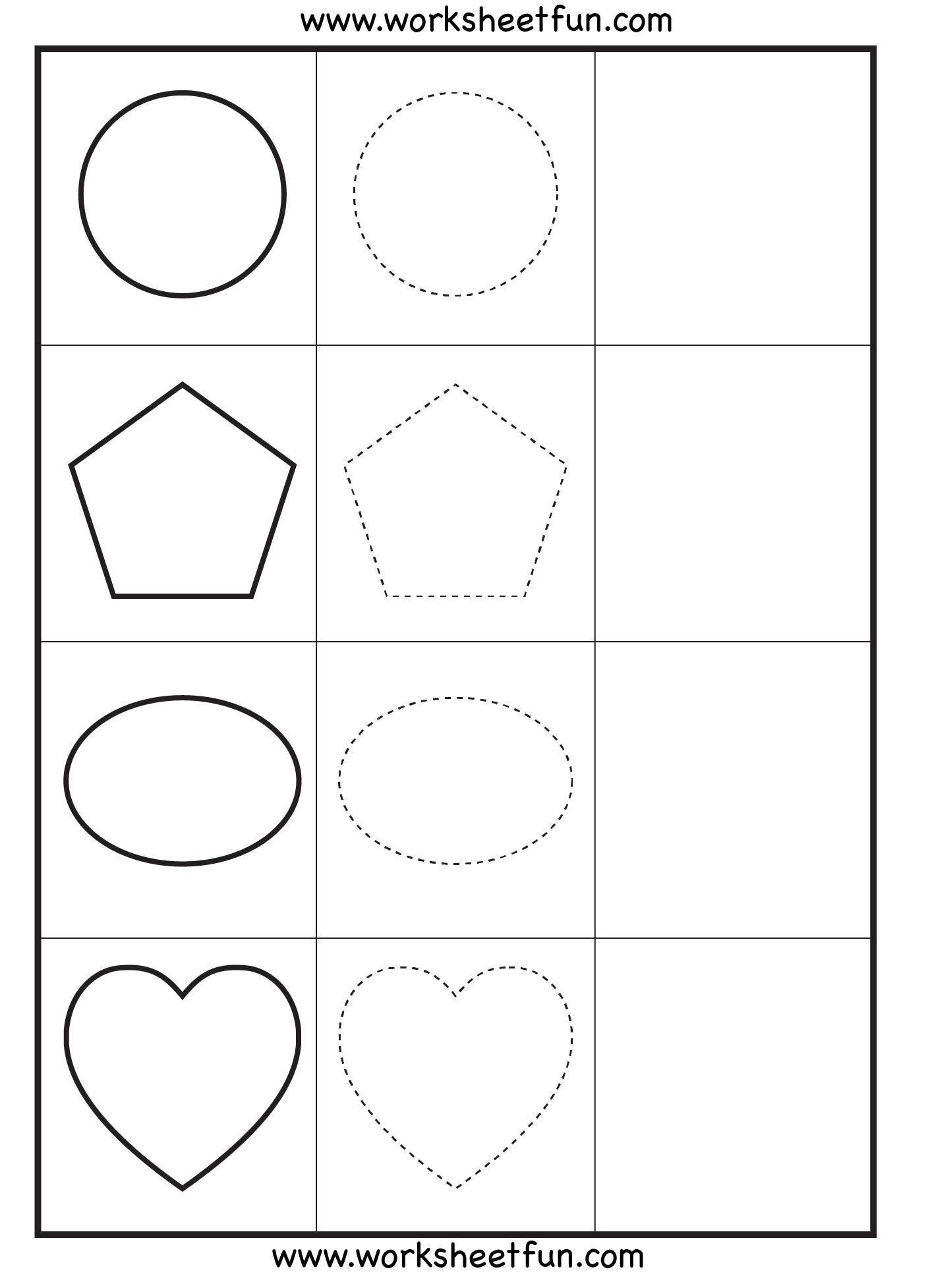 4 Year Old Preschool Worksheets