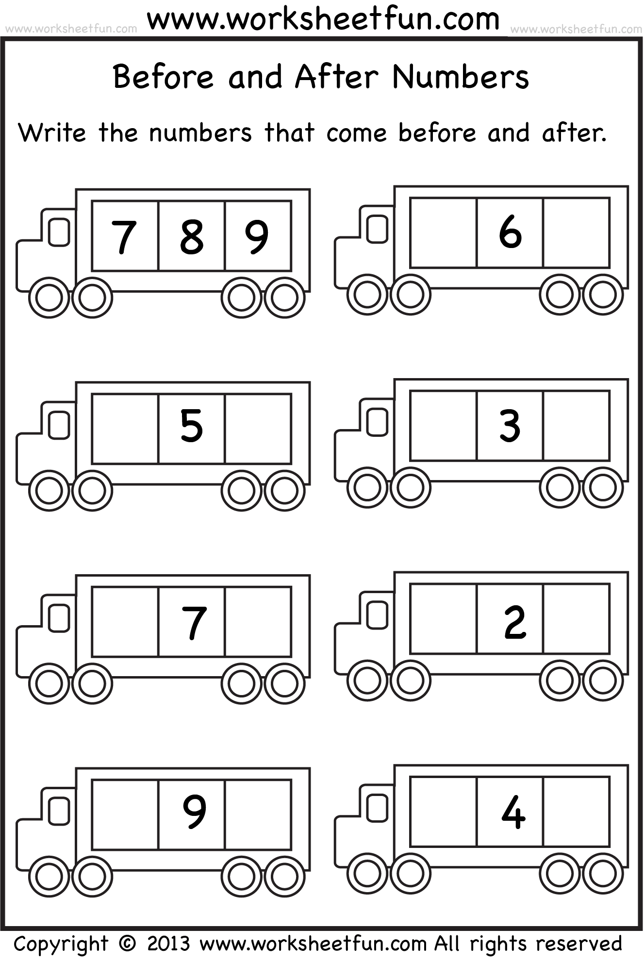 Number Writing Worksheet 1 10 Teaching