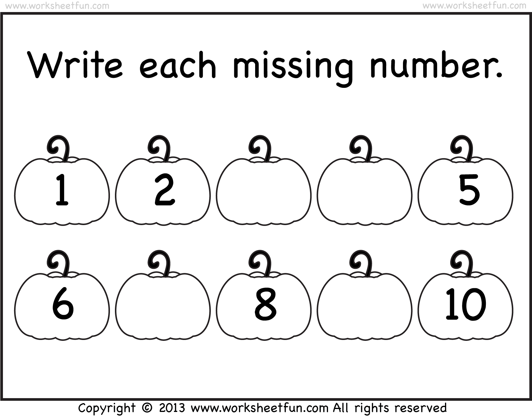 Missing Number Worksheet New 273 Write The Missing Number