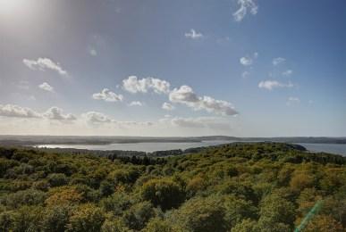 """Aussicht vom """"Adlerhorst"""" - Naturerbe Zentrum Rügen"""