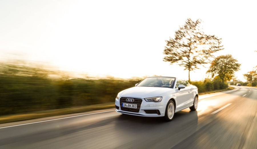 Audi A3 Cabrio, Model 2014, ibisweiss