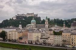 Blick auf die Hohensalzburg