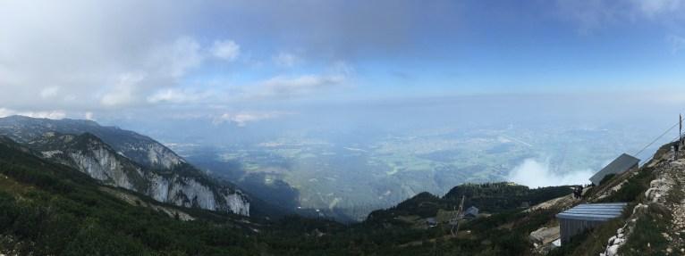 Panorama vom Untersberg Salzburg