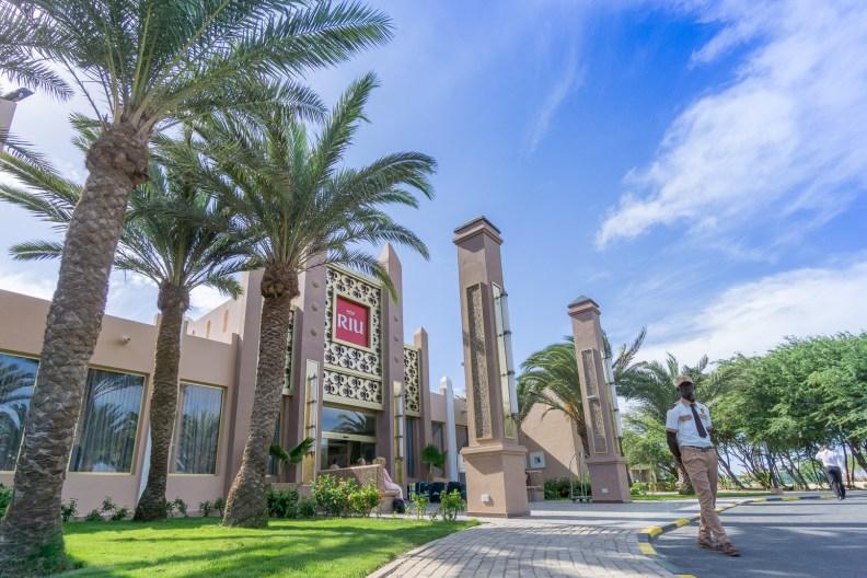 Eingang zum RIU Palace