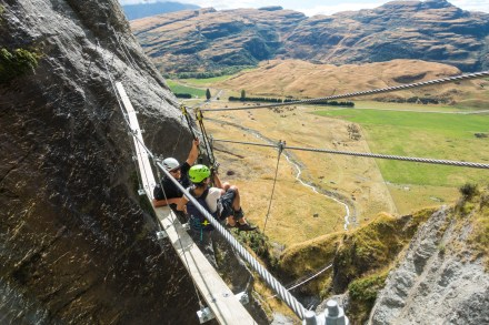 Wildwire Via Ferrata Wanaka