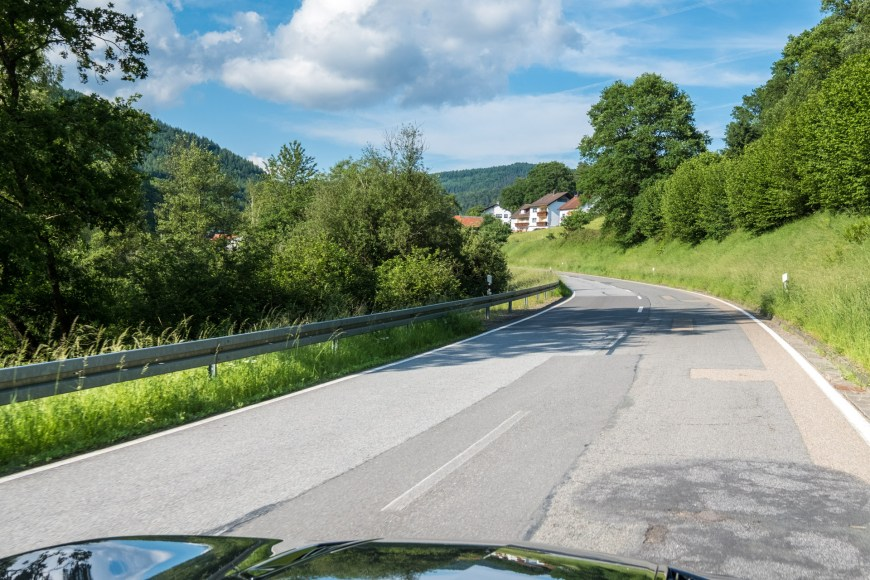 Chevrolet Camaro V8 Convertible - Roadtrip Odenwald