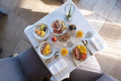 Frühstück im Il Fuoco Sacro