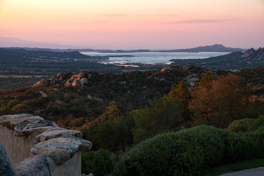 Ausblick auf La Maddalena