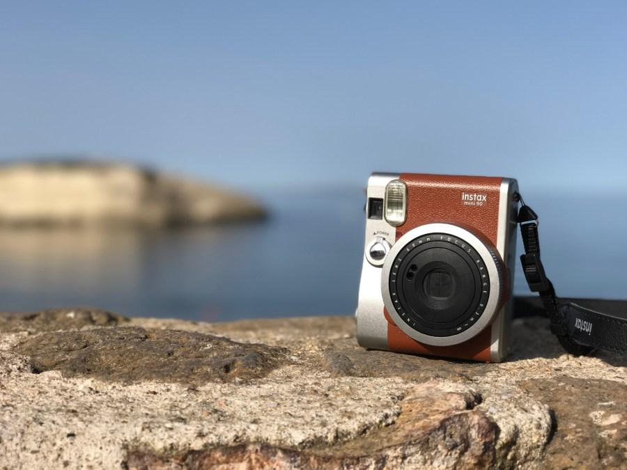Fujifilm Instax mini 90 in braun
