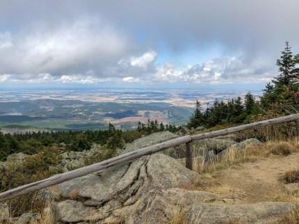 Wanderung Brocken - Aussicht Gipfel