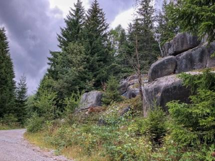 Wanderung Brocken - Bielsteinchaussee