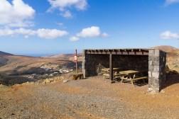 Wanderung Fuerteventura - Von Betancuria zum Morro Velosa - Pass Degollada de Marrubio