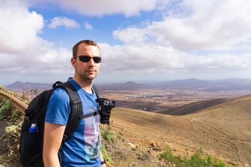Wanderung Fuerteventura - Von Betancuria zum Morro Velosa - Blick auf Antigua