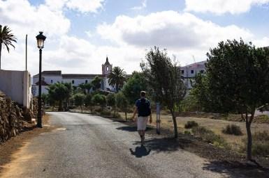 Wanderung Fuerteventura - Von Betancuria zum Morro Velosa - Betancuria Calle Presidente Hormiga