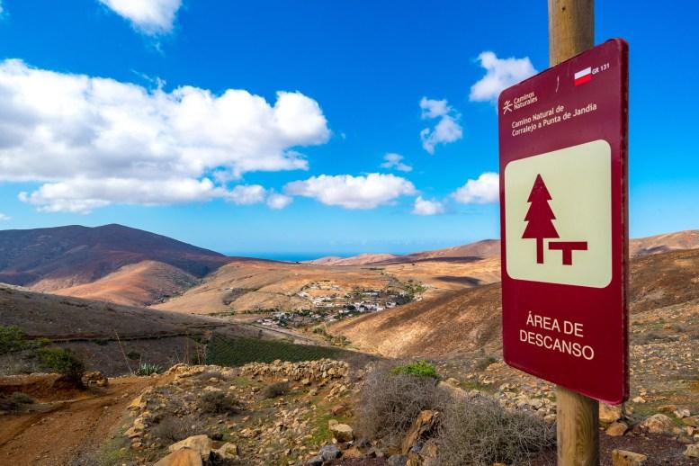 Wanderung Fuerteventura - Von Betancuria zum Morro Velosa - Degollada de Marrubio