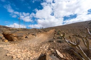 Wanderung Fuerteventura - Von Betancuria zum Morro Velosa - Camino la Cuesta de Antigua
