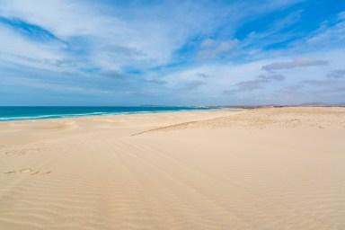Boa Vista Kapverden - Nord-Südtour mit Baobab Tour - Strand Praia de Chaves