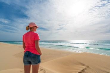 Boa Vista Kapverden - Nord-Südtour mit Baobab Tour - Praia de Santa Monica Beach