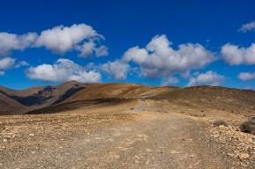 Wanderung Fuerteventura - Von Morro Jable auf den Pico de la Zarza - Wanderweg PR FV 54