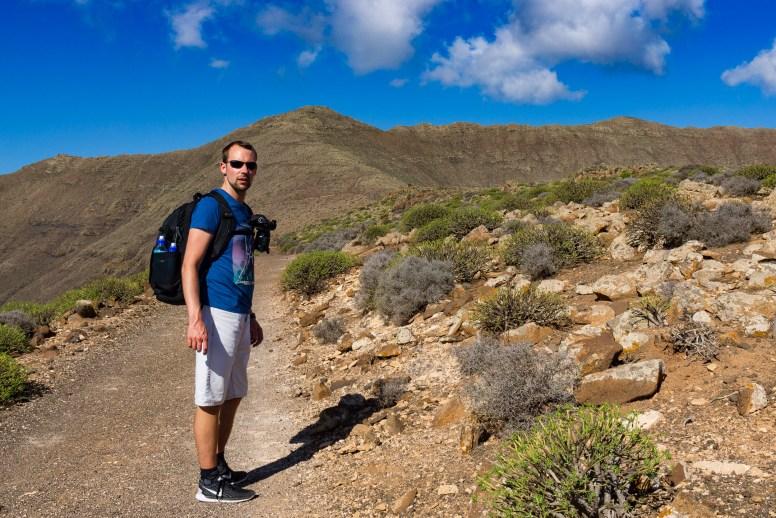 Wanderung Fuerteventura - Von Morro Jable auf den Pico de la Zarza - Vinamar-Ebene Tablada de Vinamar