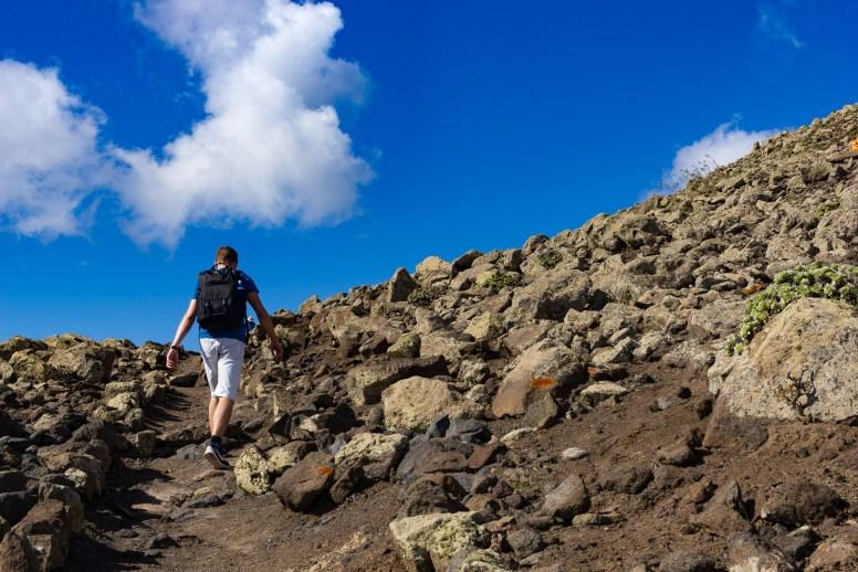 Wanderung Fuerteventura - Von Morro Jable auf den Pico de la Zarza - Wanderwegh PR FV 54