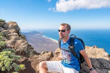 Wanderung Fuerteventura - Von Morro Jable auf den Pico de la Zarza