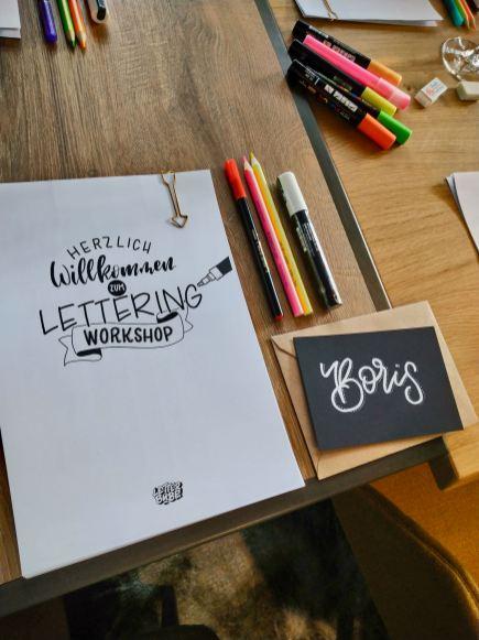 Letterbube Workshop
