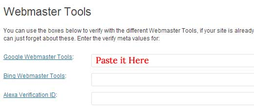 Công cụ quản trị trang web WordPress SEO