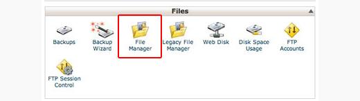 Sử dụng trình quản lý tệp cPanel để xóa trang web WordPress.org của bạn